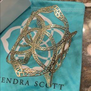 Kendra Scott Roni gold cuff.